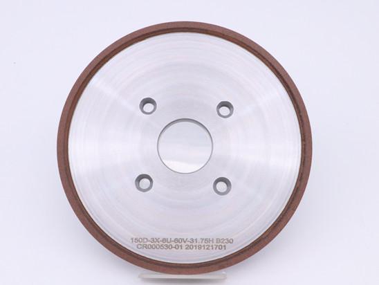 4v9 Resin cbn grinding wheel for gear hob cutter