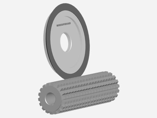 Gear hob cutter grinding resharpening