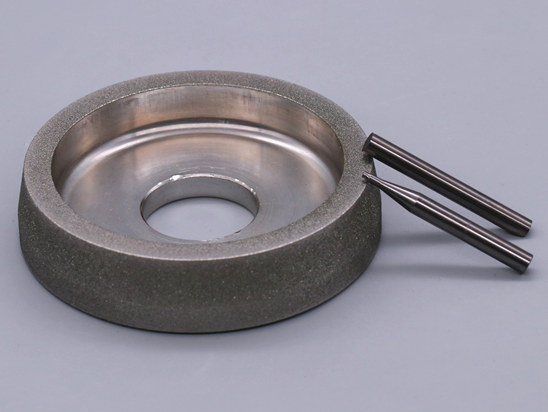 Electroplated cbn wheels for cylindrical grinding mill cutter